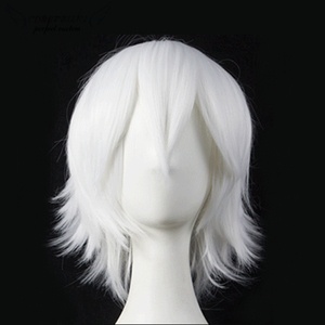 Universal short hair Reverse Wig Cosplay Halloween Christmas Carnival wig