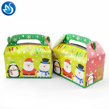 PVC Window Printing Cardboard Take Away Birthday Cake Boxes