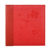 Guanmei Pu leather photo album for wedding use 12x12 size self stick sheet diy photo scrapbook 315*325mm Luxury PVC sheet albums