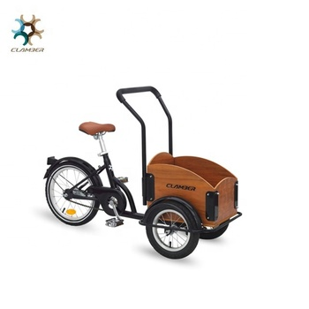 new design 16 inch three wheel kids cargo bike in tricycle with box in the front