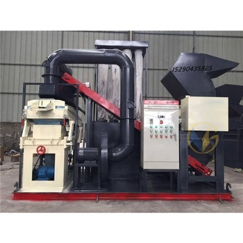 Cable granulating machine for recycling Copper cable wire crusher and separator equipment copper wire stripper