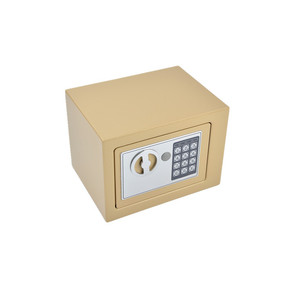 Compact steel lock safe box inside the wall security storage money cash jewelry hotel home keep safety box