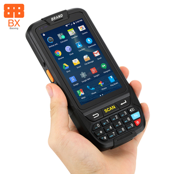 2019 BaoXing industrial data collector pda terminal with nfc rfid android 2d barcode scanner pda