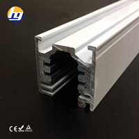 5 Wires Dali System Track Rail Aluminum Profile LED Track Light System