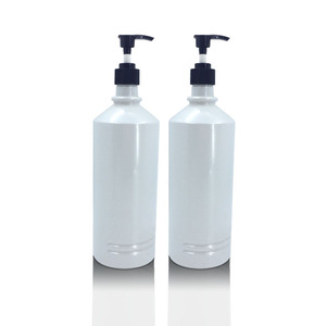 1000ml HDPE Shampoo Bottle Hair Conditioner Container Custom Plastic Packaging Lotion Container for Body Care Hair Salon
