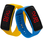 Led Touch Watch Student Sports Electronic Ring Watch Digital wrist watch for Kid