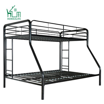 Twin Over Full Futon White Metal