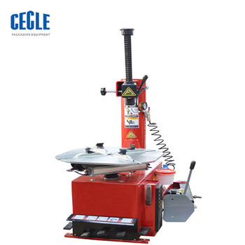 High quality run flat tires demouting tyre changer machine easy operation tilting post tire changers with pneumatically