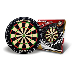 Wholesale 18X1-1/2'' professional competition bristle dartboards 18 inch Blade wire spider sisal fiber dart board