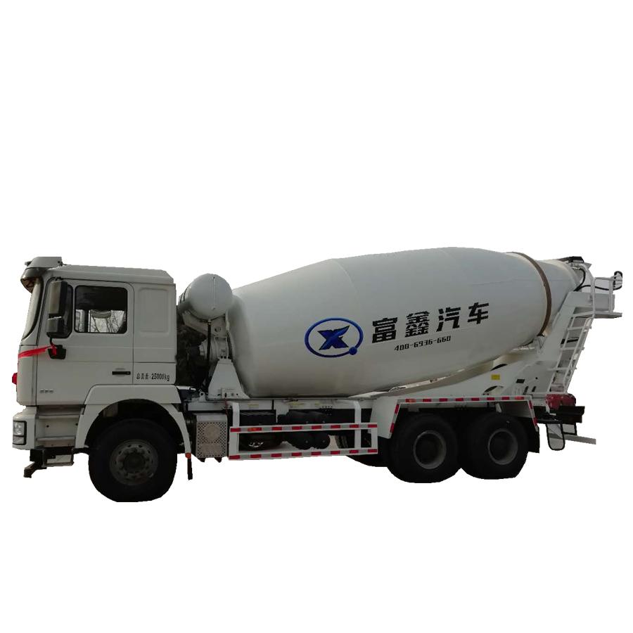 liebherr self-loading electric concrete mixer