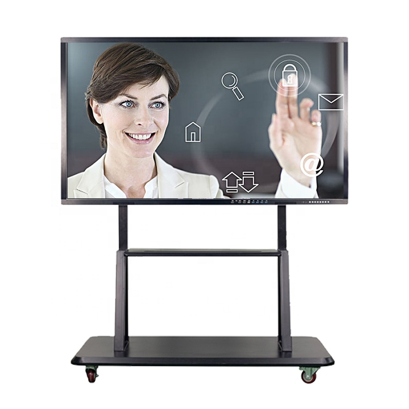 75 inch android board 10 punten touch interactieve magnetische whiteboard
