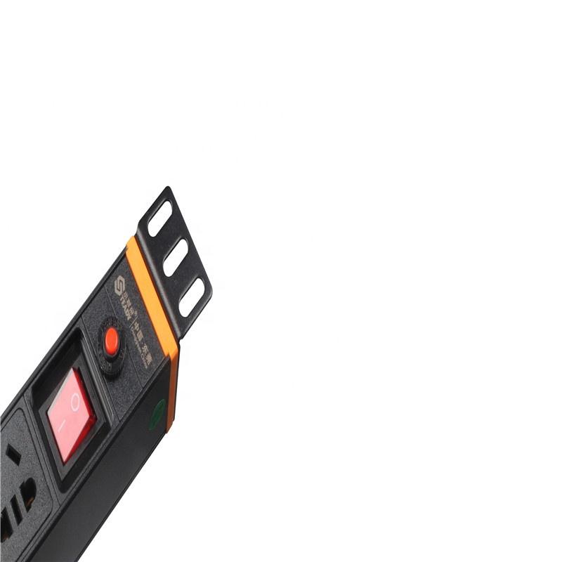 1.5U P8 CE RoHS 19 '8 способов 1U немецкая розетка блок распределения питания PDU