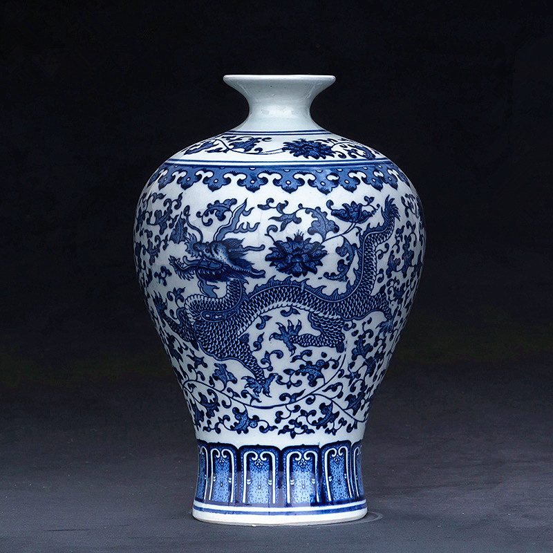Asian Antiques Cooperative Vase Porcelain Chinese Antiques