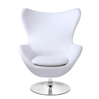 Clic Design Fabric Swivel Egg Chair