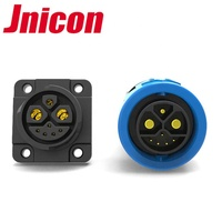 electrical plug socket Jnicon waterproof connector charging port for electric car battery