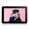 Advertising 10inch MP4 media player display Android OS support USB and SD card