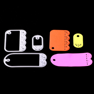 AAGU futian market yiwu scrapbooking DIY paper craft card making stencil craft cutting dies