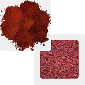 wpc colorant red iron oxide S110 S 120 S130 S190 pigment for wpc wood chips mulch colorant