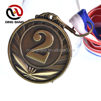Top Quality Embossed Type And Ribbon Attach Custom Made Metal Souvenir 24k  Gold London Competition Medal - Buy Competition Medal,Gold Medal,24k Gold