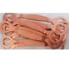 flange static Jumper copper sheet connecting line copper jumper wire hole 16, length 150mm Flange connection