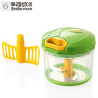 Smile mom Plastic Kitchen Accessory Pro Pull Chopper - Mini Vegetable Slicer - Handy Garlic Onion Chopper
