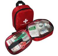 Emergency First Aid Bag-Empty Medical Emergency Backpack Survival First Aid Kit Back Pack First Responder Rescue AED Bag