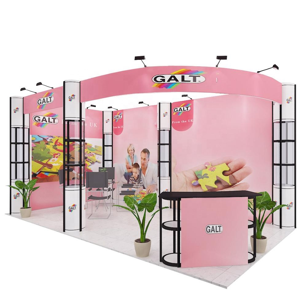 Trade show โปรโมชั่น photo booth แบบพกพา
