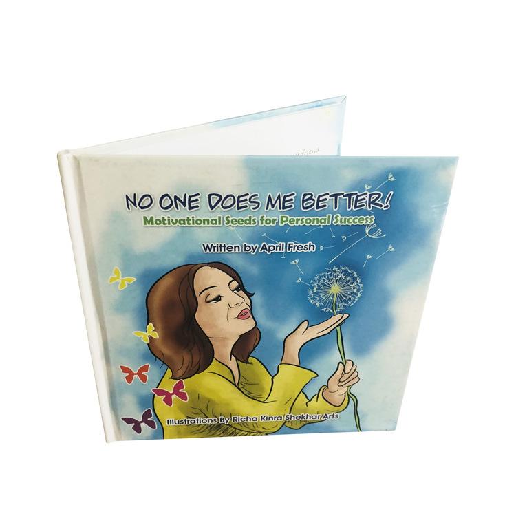 Hardcover colorful children comics cartoon english story book