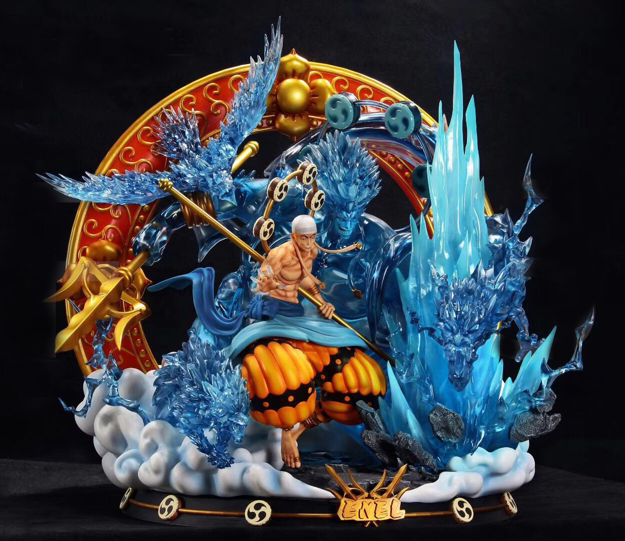 Brilliant Quality Model Kit Resin One Piece Affe D Luffy Resin Abbildung