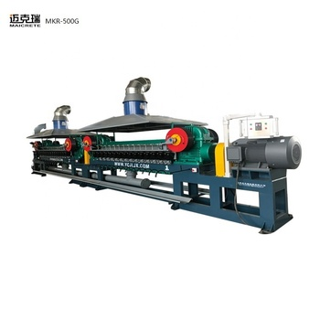 Automobile brake pad raw material production equipment steel wool making machine