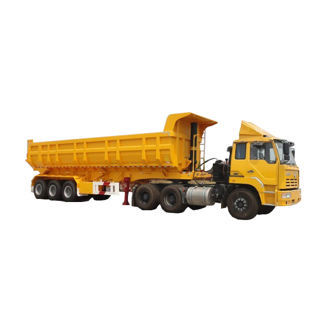 2 Axles 25ton Hydraulic Dump Trailer,Tipper Trailer For Tractors With  Lifting Cylinder Parts For Sale - Buy U Shape Tipper Trailer,Tipper Truck  Double