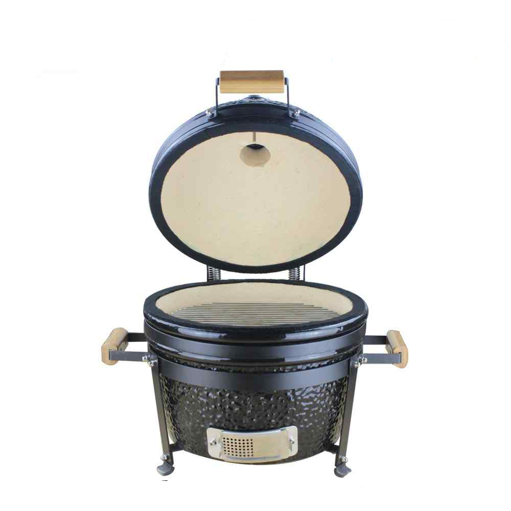 Auplex kamado 16 inch gietijzeren bbq grill outdoor tuin Kamado barbecue grill keramische barbecue grill