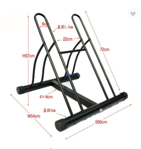 OEM 2 bike parking rack storage rack floor bicycle bracket freestanding