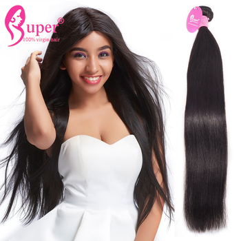 Good Remy Straight High Quality Raw Indian Human Hair Bundles With 13x4 Lace Frontal Closure