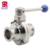 SS304,SS316L DN25 Sanitary Stainless Steel Tri clamp Butterfly Ball Valve
