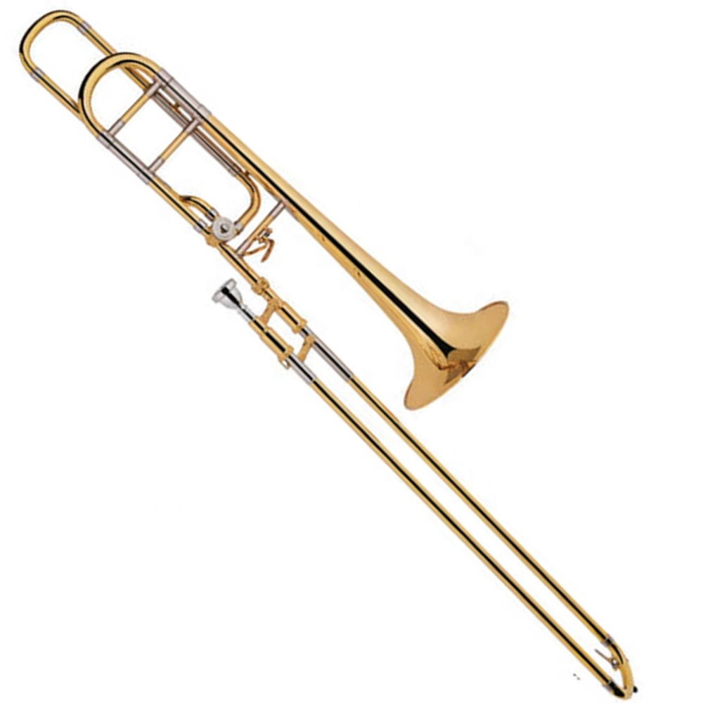 High grade Tenor Trombone Tuning Slide Gold Brass Bell