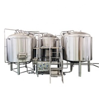 10bbl three vessel commercial beer brewery equipment for sale
