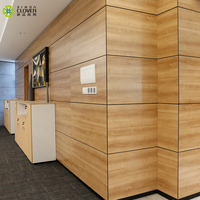 Factory European Style Modern Design Decorative Wooden Wall Panel Interior For Hotel or Office space