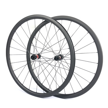 Chinese hot sale Full carbon wheels 700c clincher with bicycle  wheelset