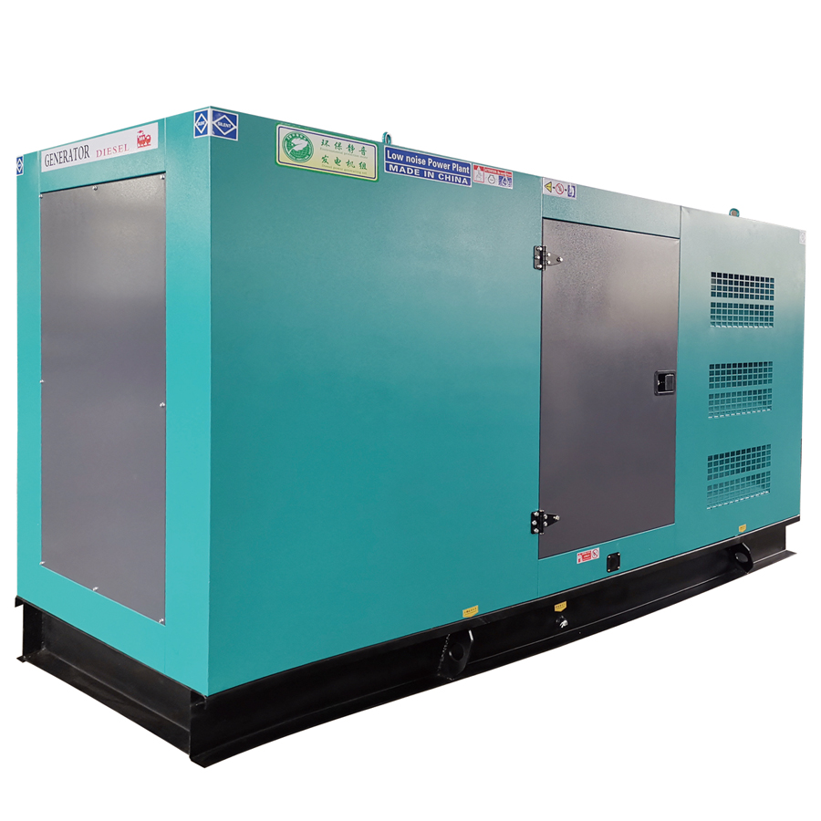Supply stille type 140KVA diesel generator aangedreven door 6BTAA5. 9-G2 motor