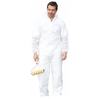 Custom unisex disposable non woven working safety coverall