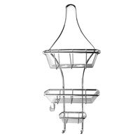 Vase Shaped Bathroom Electrolysis Stainless Steel Standard Shower Caddy