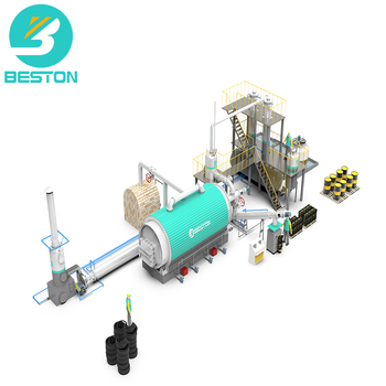 2019 new waste plastic pyrolysis plant for oil