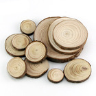 Custom Rustic Natural Round Wood Pine Tree Slices For Wedding Crafts