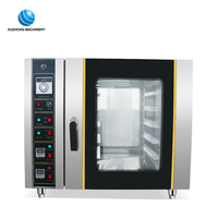 full stainless steel bakery deck oven mini gas oven commercial