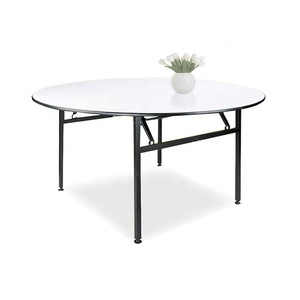 Wholesale 5 Years Warranty High Quality Luxury Banquet Foldable Hotel Table