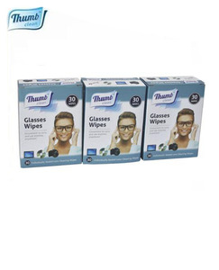 China OEM manufacturer New design computer Camera or Glasses Lens glass machinery cleaning wet wipes