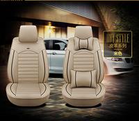 High Quality 5D Luxury Fashion PU Leather Full Set Car Seat Cover for Car Seat Protector with New Model