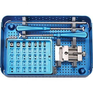 High Quality Cervical Peek Cage Instrument Set ,Spine Instrument Set,Orthopedic Surgical Instrument Set