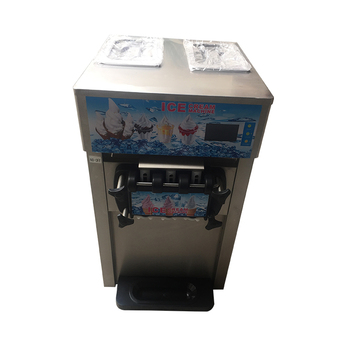 Snack food factory three heads soft portable ice cream machine price